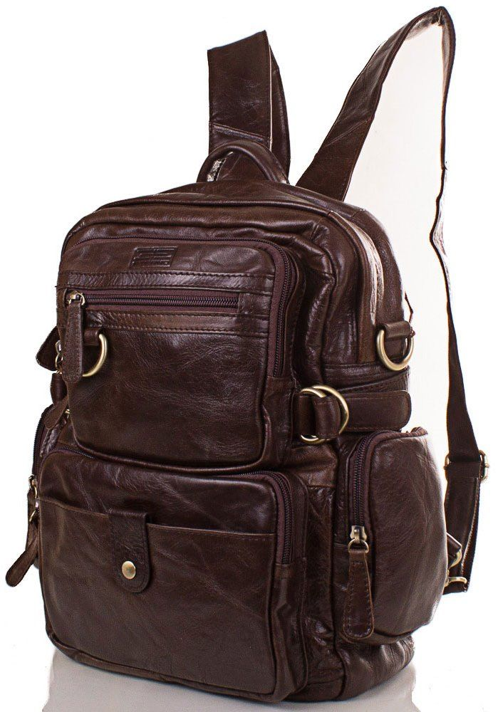 Купить кожаный рюкзак в Киеве