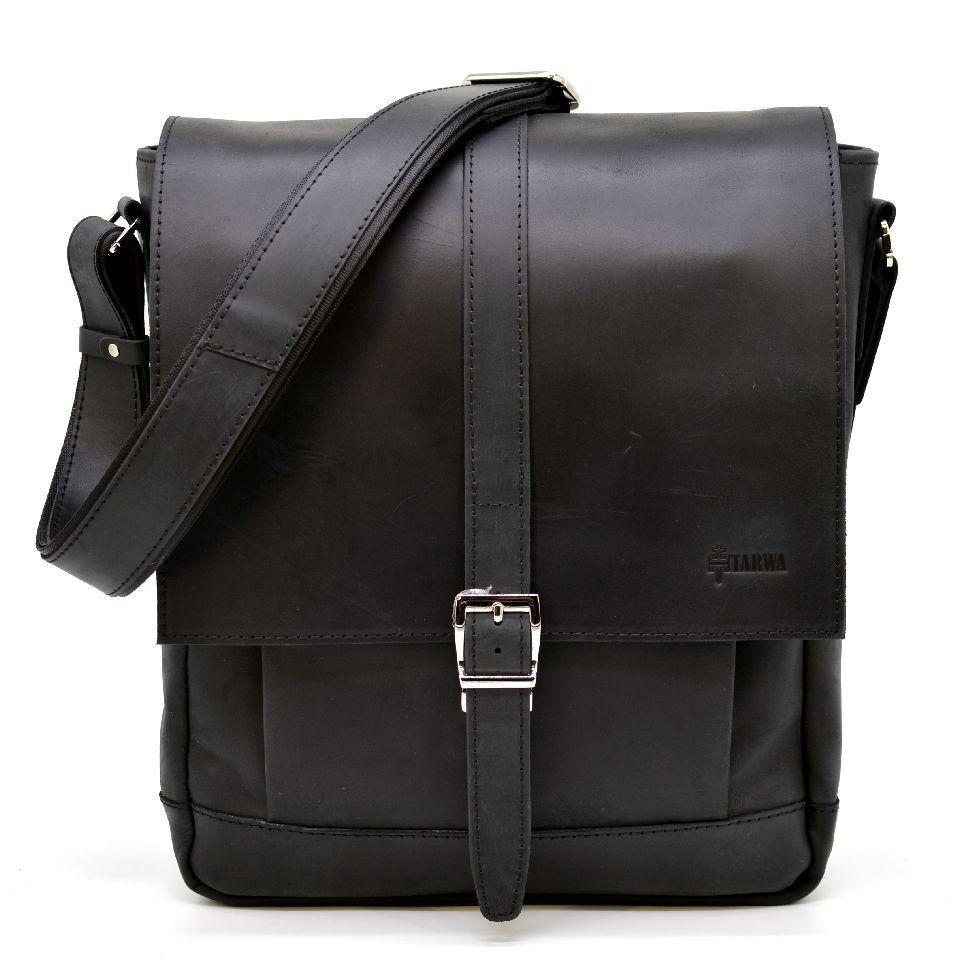 купить мужскую кожаную сумку через плечо