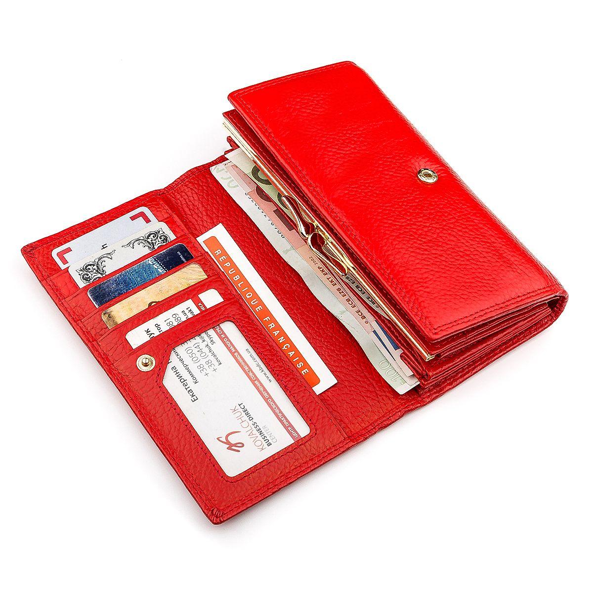 c44e16bfd86d Кошелек женский Boston 18493 (S9001B) яркий Красный: цена - 776 грн ...