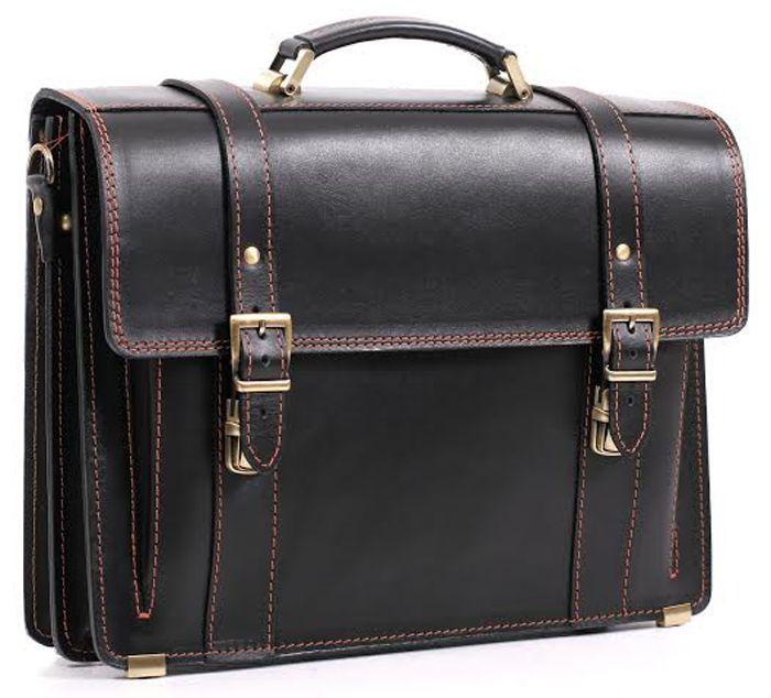 3014d2aa1f0a Добротный мужской кожаный портфель ручной работы 10088