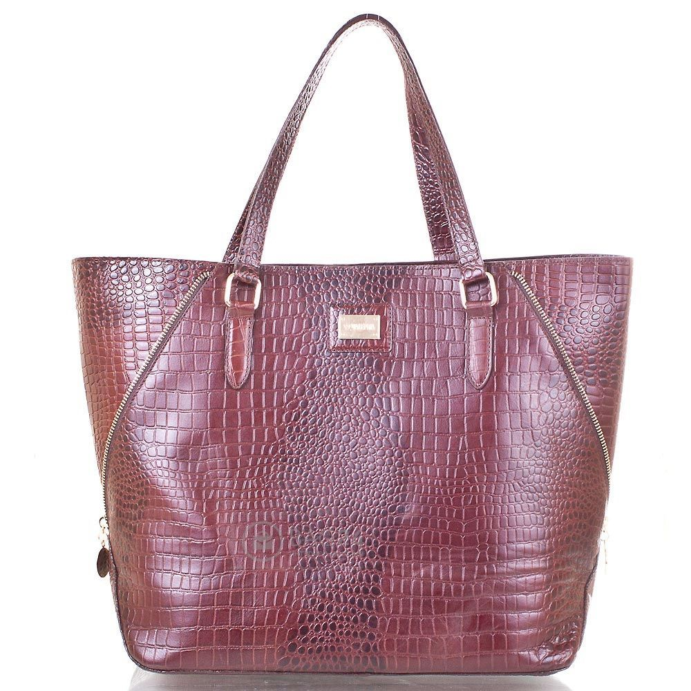 925fc8593af4 Кожаная женская сумка украинского производства VALENTA VBE6072310 ...