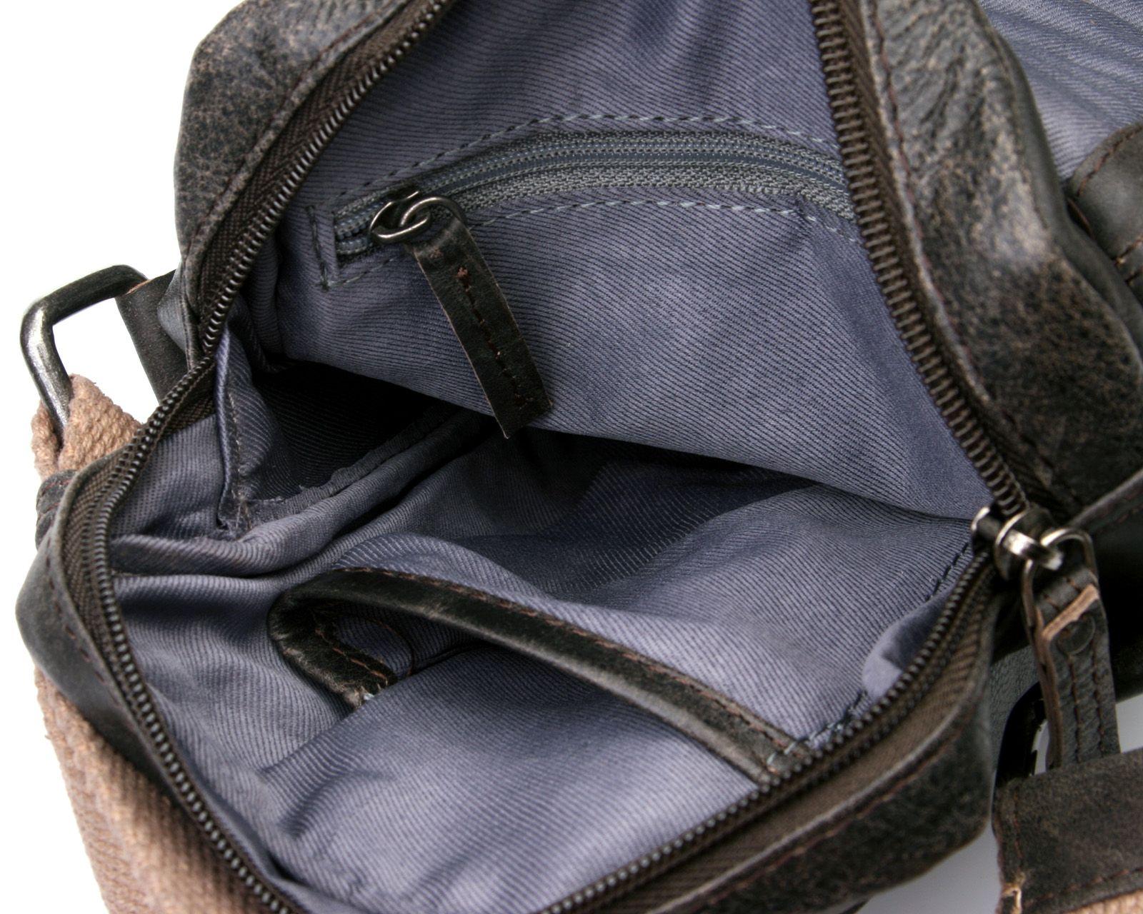 3b8f886b7135 Элитная мужская сумка из натуральной кожи Privata 03400138-01: цена ...
