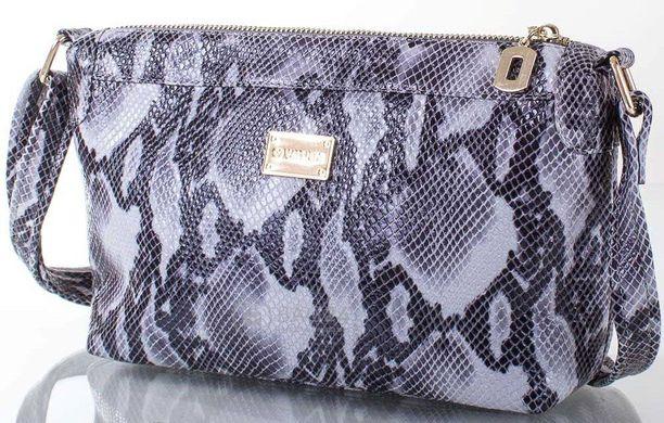 6e01712893ed Небольшая кожаная сумка-клатч для современных женщин VALENTA  VBE6081168-grey, Серый