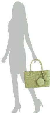 d71bc8110c6b Элитная дизайнерская женская сумка из натуральной кожи GALA GURIANOFF  GG1255, Зеленый