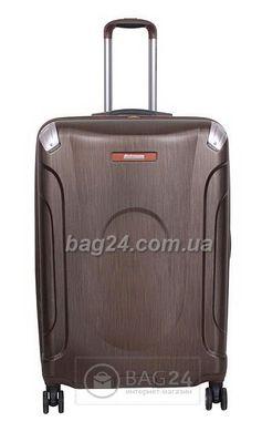 e67c7929ec13 Качественный дорожный чемодан Vip Collection Everes Brown 28