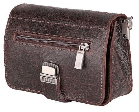 Небольшая поясная сумка-барсетка из натуральной кожи 12446  цена - 1 ... 952ba70ce2232