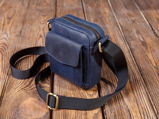 f0964e8b Маленькая вместительная мужская сумка из натуральной кожи: цена - 1 ...