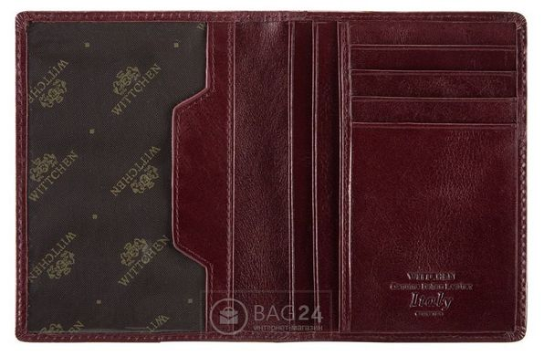 34162a809986 Элитная обложка для документов из натуральной кожи WITTCHEN 21-2-174 ...