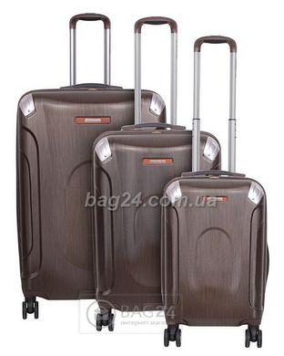 Высококачественный комплект дорожных чемоданов Vip Collection Everest Brown  28