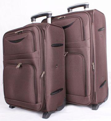 Дорожные чемоданы коричневого цвета (комплект) Accessory Collection 00491,  Коричневый 41564d0a048