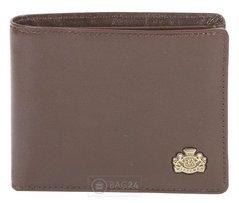 d2ef11b213e8 Добротный кожаный кошелек европейского качества WITTCHEN 10-1-118-4,  Коричневый