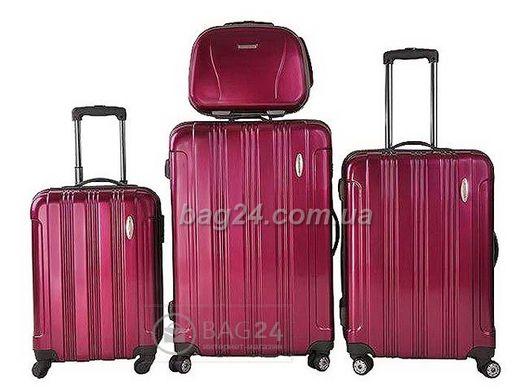 Высококачественный комплект дорожных чемоданов Vip Collection Starlight  Violet 28