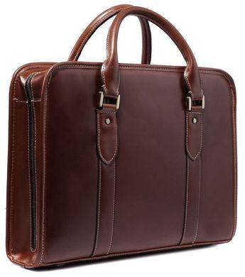 b15a845ee6e2 Элитная мужская кожаная сумка-портфель самого высокого качества Vintage  14113, Рыжий
