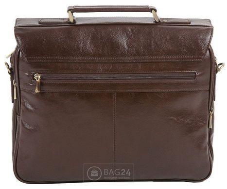 9e2683e90c7a ... Современный мужской кожаный портфель WITTCHEN 21-3-119-4, Коричневый