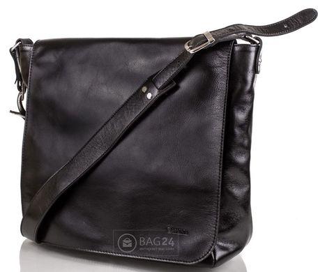 1a15bc52a2c0 Элитная мужская сумка украинского производства VALENTA BM702191, Черный