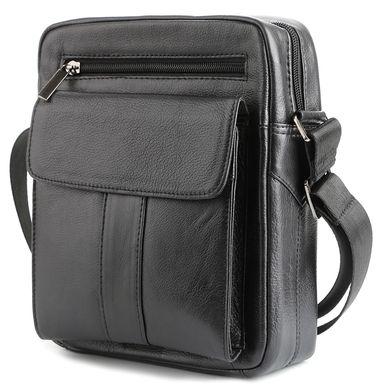 4627db039c63 ... Мужская кожаная сумка средних размеров Accessory Collection 00967,  Черный ...