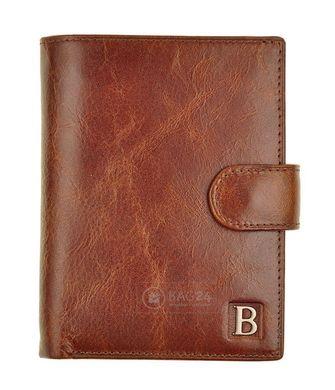 bf73da4b0e9f Кожаное мужское портмоне с отделением для паспорта Beretta, Коричневый