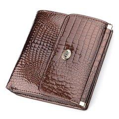 c7246e472c2a Кошелек женский ST Leather 18354 (S1101A) лакированная кожа Коричневый,  Коричневый