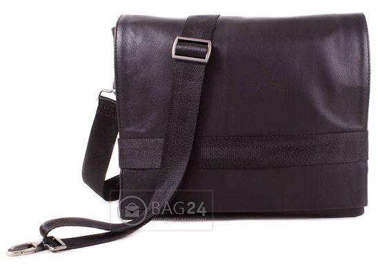 60c69c202d81 Добротная сумка из высококачественного кожзаменителя MIS MISS34105, Черный