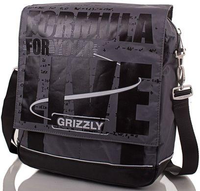 Надежная мужская сумка из нейлона GRIZZLY GMM341-1-1  цена - 936 грн ... d47bb7baa43