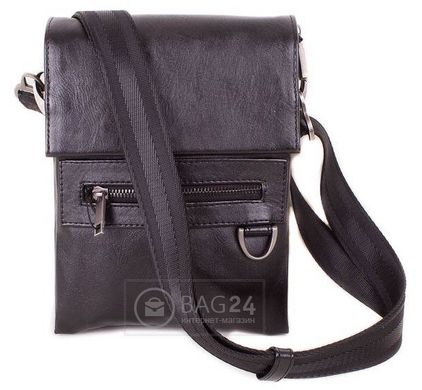15e6d23961ef Прочная мужская сумка из высококачественного кожзама MIS MISS34126, Черный