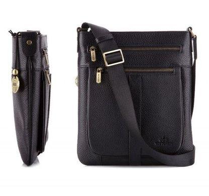 3167951f20d6 Кожаная мужская сумка через плечо WITTCHEN 17-3-722-1-ART: цена - 5 ...