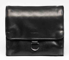 f1c55b5bdf04 Стильный кожаный несессер Vip Collection УКРАИНА 1428A flat, Черный