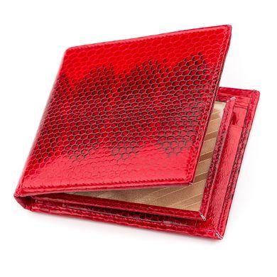 05cc91434e72 Бумажник женский SEA SNAKE LEATHER 18275 из натуральной кожи морской змеи  Красный, Красный ...