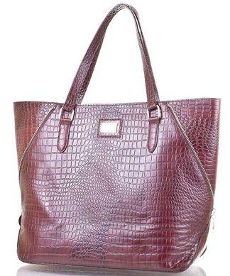 f966e155f70e Кожаная женская сумка украинского производства VALENTA VBE6072310,  Коричневый