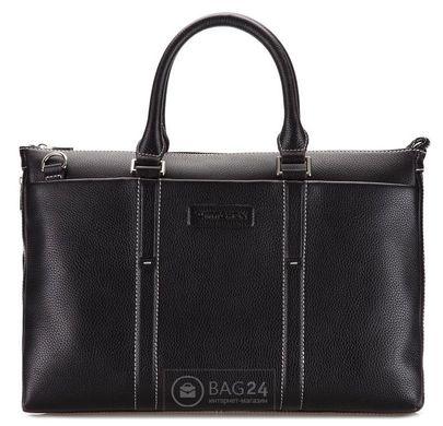 a9fdcaf60469 Элитная кожаная сумка для большого ноутбука WITTCHEN 28-4-024B-1, Черный