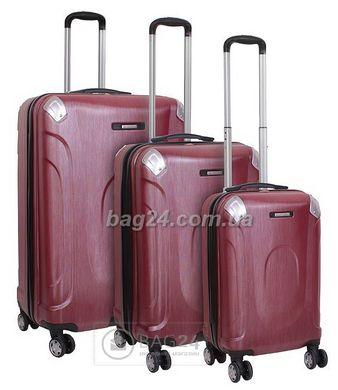 Высококачественный комплект дорожных чемоданов Vip Collection Everest Red  28