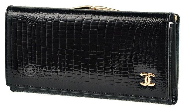 Кожаный женский кошелек CHANEL черного цвета  цена - 1 099 грн ... dabe8927435